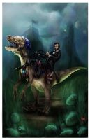 Abraham Lincoln Conqueror of Worlds. by gerky-art