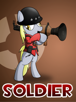 Pony Fortress 2: Soldier by 10art1