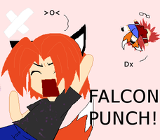 FALCON PUNCH by ReafuChan
