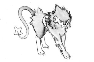 Luxray Sketch by FreedomFighters-SC