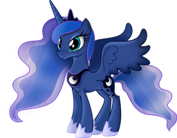 Princess Luna by TheShadowStone