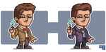 The Eleventh Doctor by ionrayner