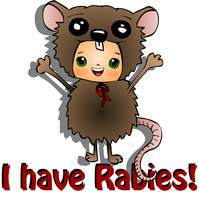 I Have Rabies! by LaLaBears