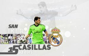 San Iker Casillas Real Madrid CF by rollr