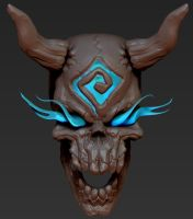 Lord of bone skull1 by overmind81