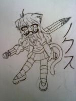 Me as a chibi by Psycho-Kitty-Lullaby