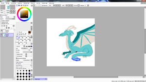 In the works preveiw: dragon by elyet123
