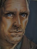 Dr House trading card by Amelie-ami-chan