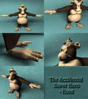 The Accidental Super Hero by dustbean11