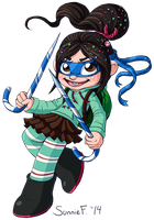 Vanellope's Costume by SunnieF