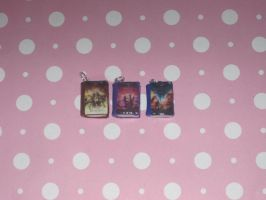 The Kane Chronicles Book Charms by ichigoluv