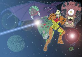 Metroid by Shapshizzle