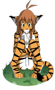 The Tiger and the Worm by Twokinds