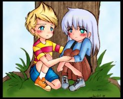 EB RP: Lucas and Sal by Candy-DanteL
