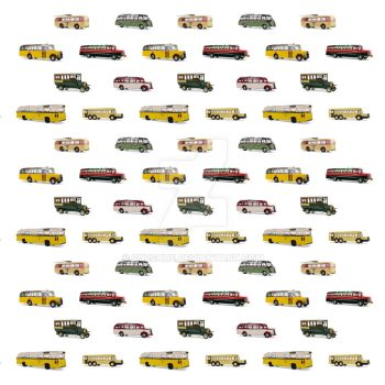 Drive my Bus poster design by Purshue