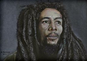 Bob Marley by HendrikHermans
