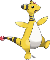 Ampharos by Xous54