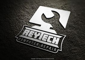 Reytech Computer Repair Logo by TrexycaArtworks
