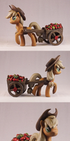 Applejack - Spin by frozenpyro71