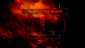 Warzone 3028 Login Page by TheFlyinFerret
