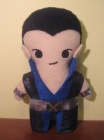 marvel comics: namor the sub-mariner, chibi style! by viciouspretty
