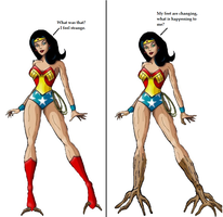 Wonder Woman Tree monster tf 2 by Alonbok77