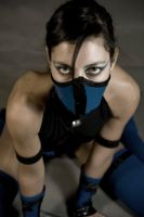 Kitana - Mortal kombat Shaolin Monks Cosplay by Adelbra