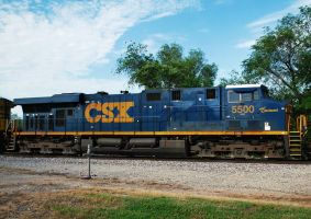 csx 5500 Spirit Of Cincinnati by SMT-Images