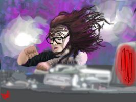 Skrillex by Averyclampur