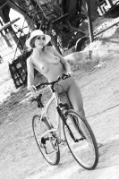Bike girl by gdikan