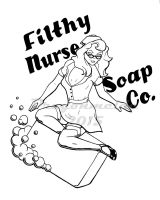 Soapy Pin-Up by dragonmelde