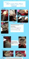 MLP Laying Pony Plush Tutorial Part 2 by Belle43