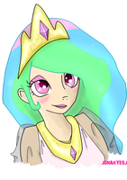 Humanized Princess Celestia by Jonah-yeoj