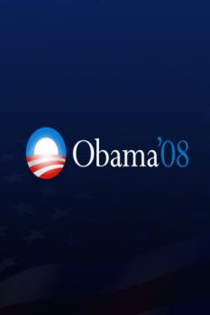 Obama iPhone Wallpaper by eVision