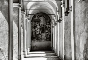 Antique Basilica in Rome by Nataly1st