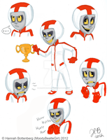 WIR: Turbo Sketchdump by MoodyBeatleGirl