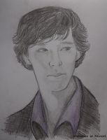 You look sad, Sherlock by alatarielarfeiniel