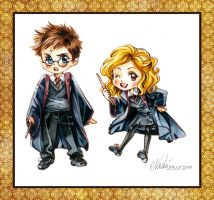 Harry Potter Chibis by Naschi