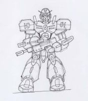 My Mech Sketches by archaznable30
