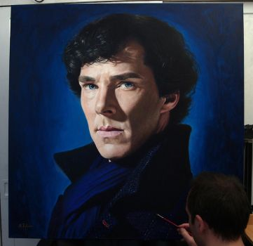 The Amazing Sherlock Holmes by agusgusart