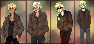 DAMMED: Lewis Through the years (2010-2013) by aomaoe