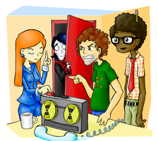 The IT crowd by OniGiri999