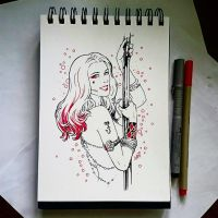 Instaart - Harley Quinn by Candra
