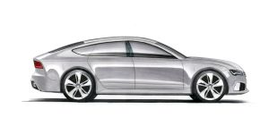 Audi RS7 by utsavshah