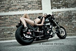 Bike and Model by eugenef