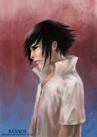 Sasuke - Grief by Keyade