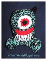 """Amigurumi Monster """"Jack"""" by WireMySoul"""