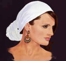 Stana Katic digital by StandsWithAPencil