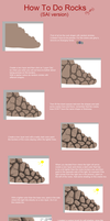 Rocks Tutorial by KirCorn