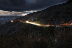 Light Above Queenstown by CainPascoe